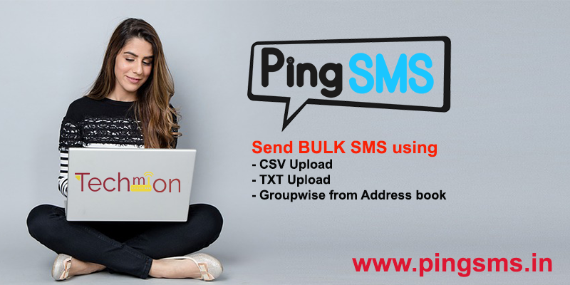 bulk sms using pingsms